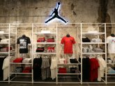 Michael Jordan shoes store in Chicago