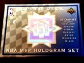 Michael Jordan Upper Deck hologram cards