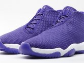 Purple Michael Jordan shoes