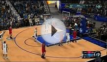 [1080p] NBA2K12 - Michael Jordan, Shawn Kemp vs Leborn