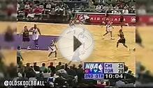 03.22.1998 - Michael Jordan & Scottie Pippen SICK MOVES vs