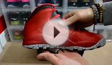 "Air Jordan 10 Retro ""Gym Red"" aka Bulls Over Broadway"