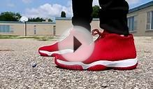 Air Jordan Future Gym Red - On Foot