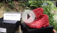 Authentic Air Jordan 13 Retro Gym Red shoes for sale