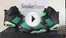 Authentic Air Jordan Retro 6 Turbo Green Women Review