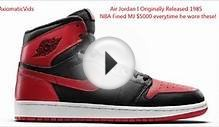 INTERESTING FACTS About EVERY Air Jordan Shoe EVER MADE