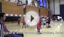 Jair Lang - Highlights from Michael Jordan Basketball Camp