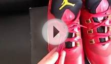 jordan supper fly 2 red shoes free shipping for sale