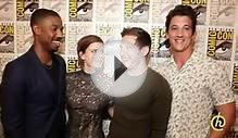 Michael B Jordan and Miles Teller – Fantastic Four Facts