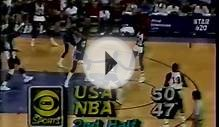 Michael Jordan 27 pts - USA Olympic Team vs. NBA All Stars