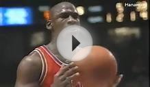 Michael Jordan 40pts (vs 76ers and Charles Barkley, 1991.1.9)