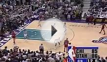 Michael Jordan 45 points vs Utah Jazz NBA Finals 1998 Game