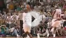 MICHAEL JORDAN 6 CHAMPIONSHIP HIGHLIGHTS SLAM DUNK FINAL SHOT