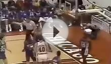 MICHAEL JORDAN- Crazy Double Clutch Reverse Bulls Record 1987
