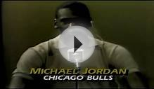 Michael Jordan during the Draft Day