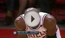 Michael Jordan Full Highlights (The Shrug) vs Trail