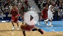 Michael Jordan in NBA 2k9: Where Amazing Happens