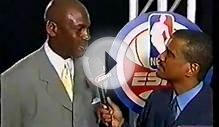 MICHAEL JORDAN-LAST GAME EVER- INTRO-INTERVIEW-HIGHLIGHT