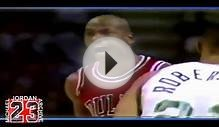 Michael Jordan - Legendary Dunk on Jack Sikma