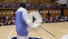 MICHAEL JORDAN- MJ Shooting Half Court Shots @ MJ Flight