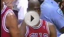 Michael Jordan - NBA Finals 1993 Game 6 shortcut, retirement
