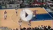 Michael Jordan shows you how to defeat a 3-2 zone defense