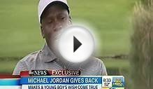 Michael Jordan Still Inspires By Giving Back To Sick Kids