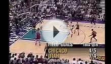 Michael Jordan. The Flu Game Highlights. 38 point game