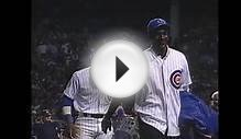 Michael Jordan throws first pitch at Wrigley