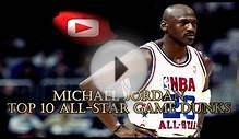 Michael Jordan – TOP 10 All Star Game DUNKS