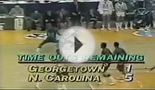 "Michael Jordan vs Georgetown 1982 NCAA Finals ""Game"