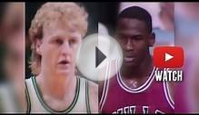 Michael Jordan vs Larry Bird EPIC Duel Highlights 79