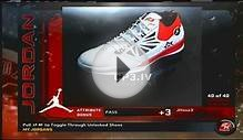 NBA 2K11 All Jordan Shoes complete set
