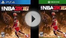 NBA 2K16 MICHAEL JORDAN SPECIAL EDITION - FREE 30K VC, NEW