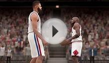 NBA 2K16 my Jordan Shoe commercial!! Stare down with