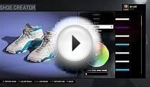 "NBA 2K16 Shoe Creator - Air Jordan 11 Low ""White - Black"