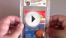 NBA Fleer 1986-87 Wax pack opened on Openboosters