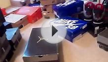 Nike Jordan Shoe Collection for sale