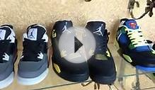 Shop 2014 New Air Jordan 4 Retro Super Perfect Version Men