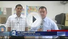 Some relief for students and teachers at Campbell High School.